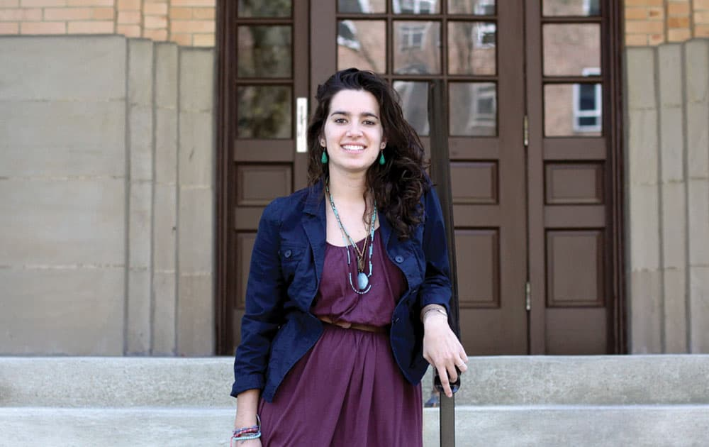New Recent student trustee: Caitlyn Battaglia '13