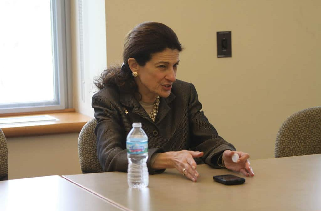 Senator Olympia Snowe sits down with The Denisonian