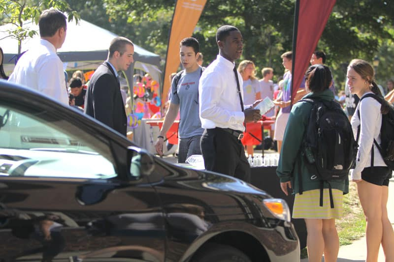 CarShare comes to campus: How to use it?