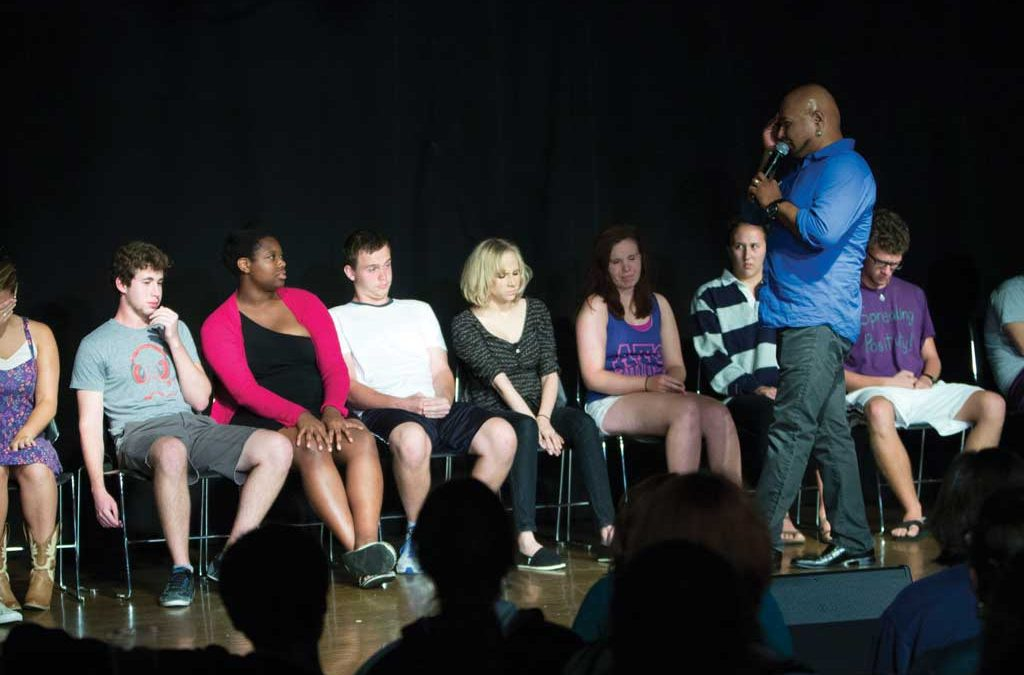 Hypnotist Sailesh returns to campus, proves to be a smash hit