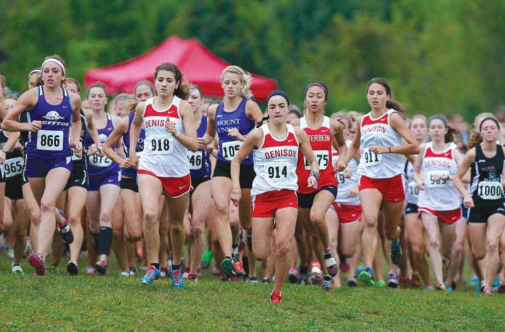 Denison women's cross country, a team to be feared
