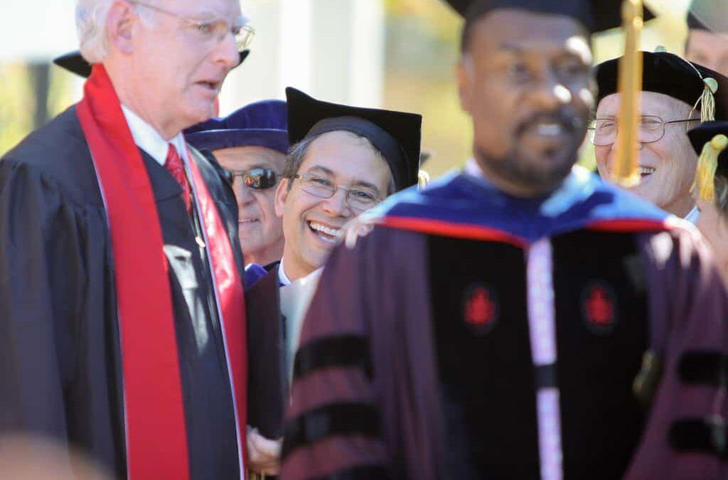 Denison inaugurates its 20th president, Adam S. Weinberg