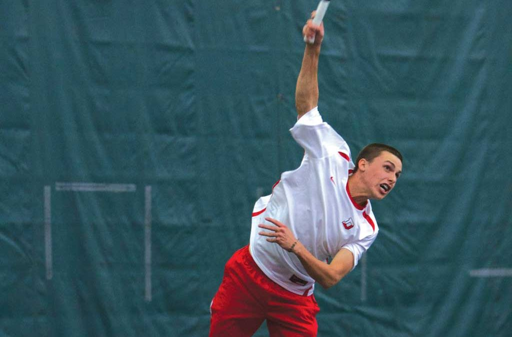Hope is born during Men's Tennis' Central Region Championships