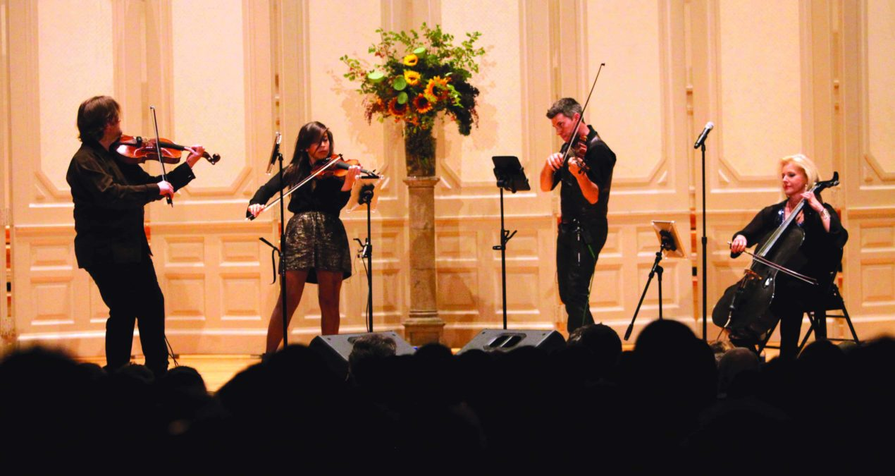 2013 – 2014 Vail Series debuts with string quartet ETHEL