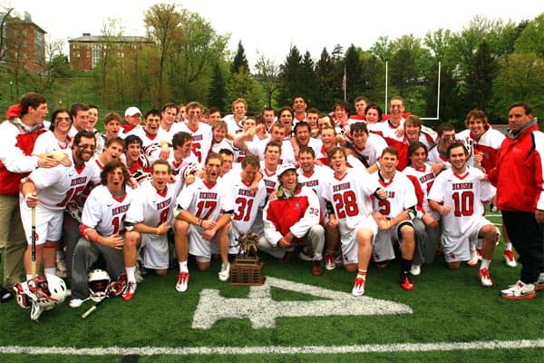 Men's lacrosse ranked #15 in preseason magazine, eager for NCAA tourny berth