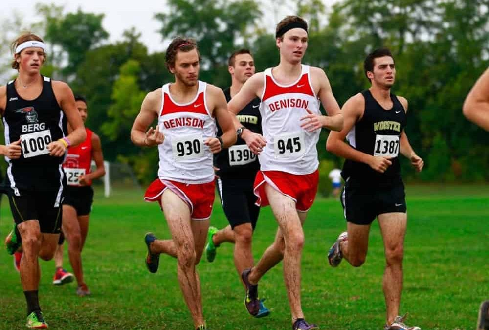 Men's cross country takes 8th at NCAC Championships
