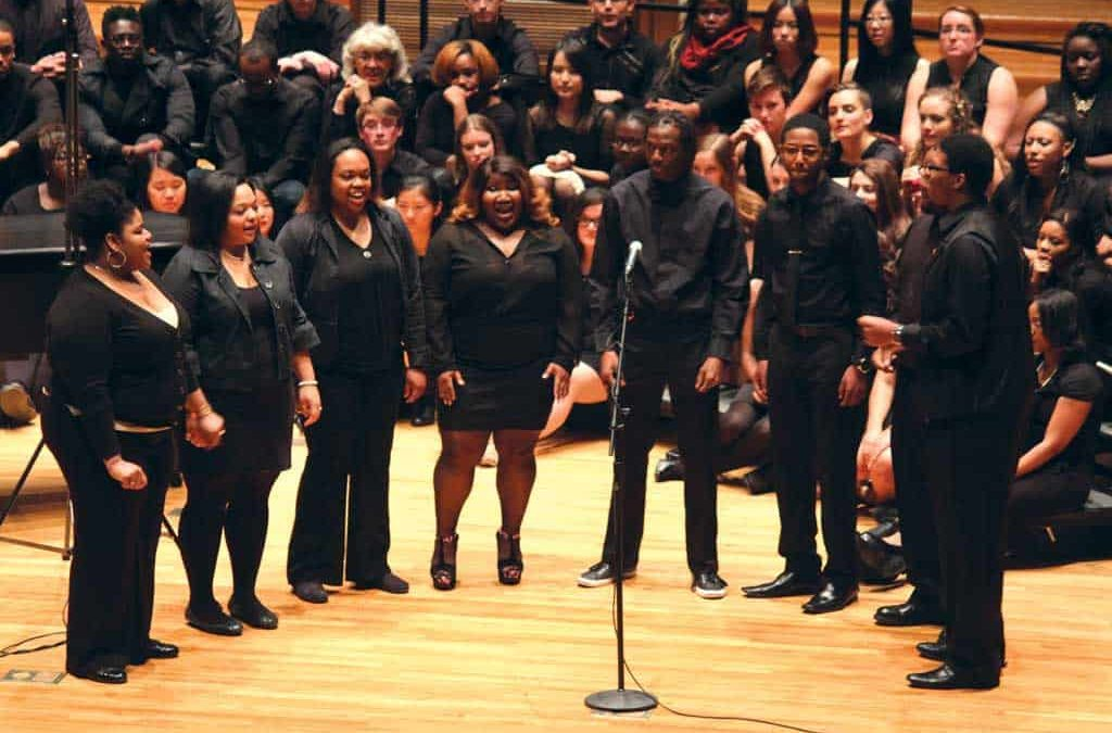 Gospel Choir fills Swasey with traditional and resonative music