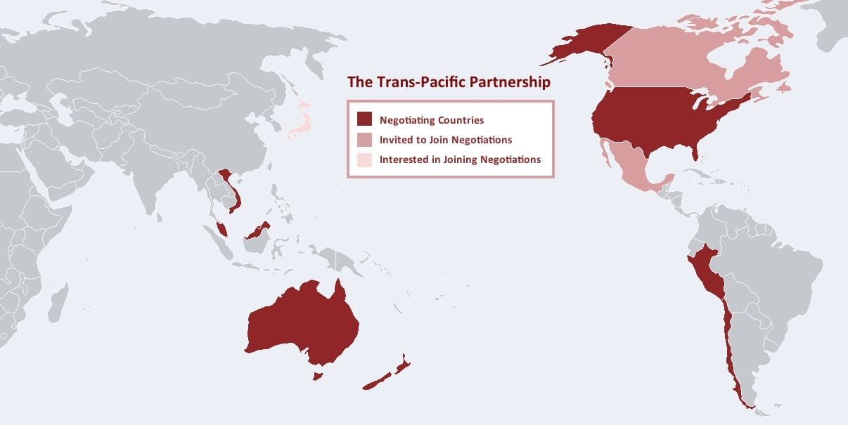 'NAFTA on steroids': The Trans-Pacific Partnership