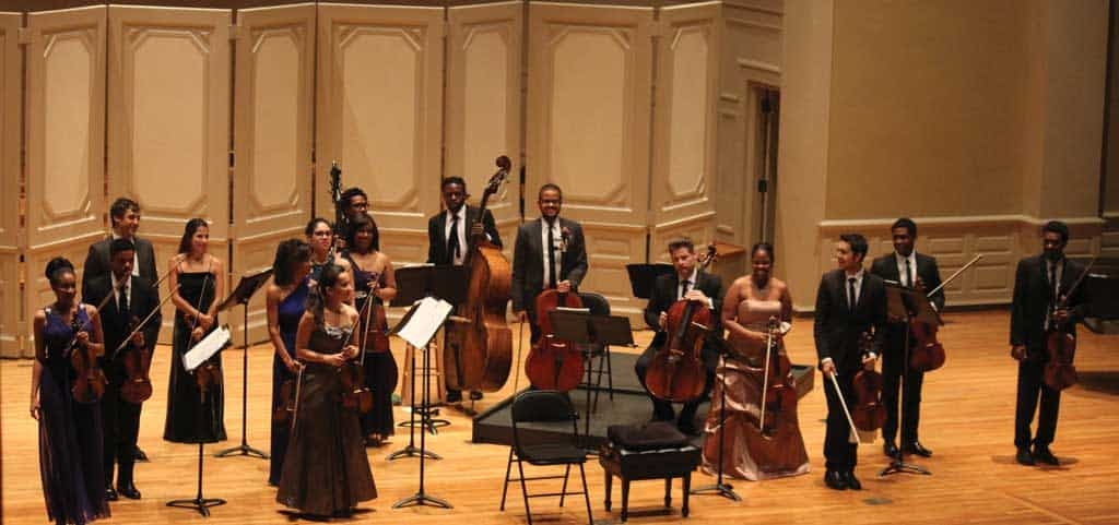 The Sphinx Virtuosi; a perfect finale for fall Vail Series