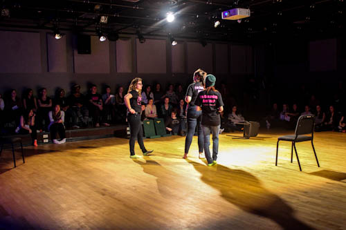Students take over for Genital Monologues