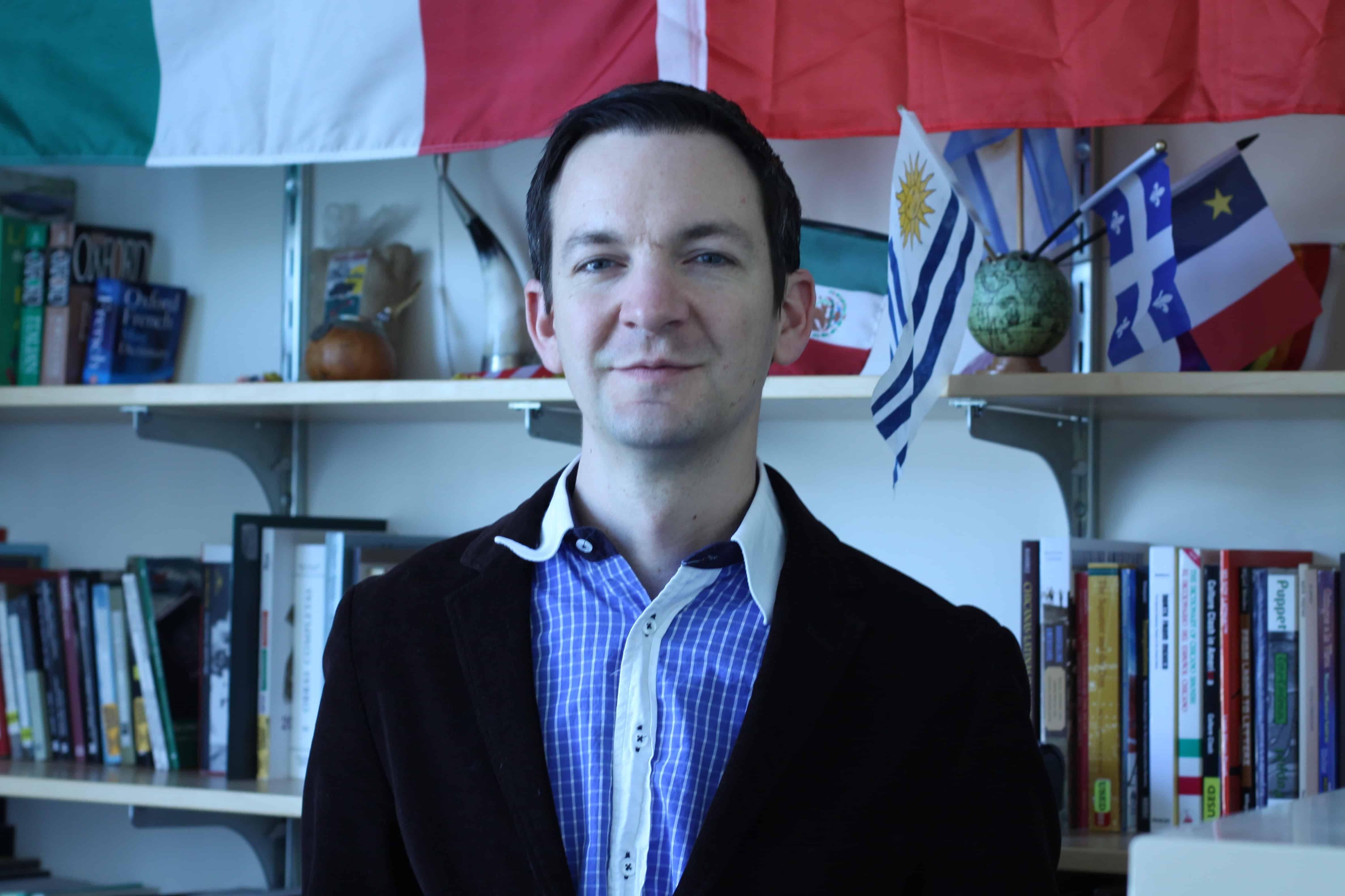 Professor St. Georges brings cross-discipline focus to Spanish dept.