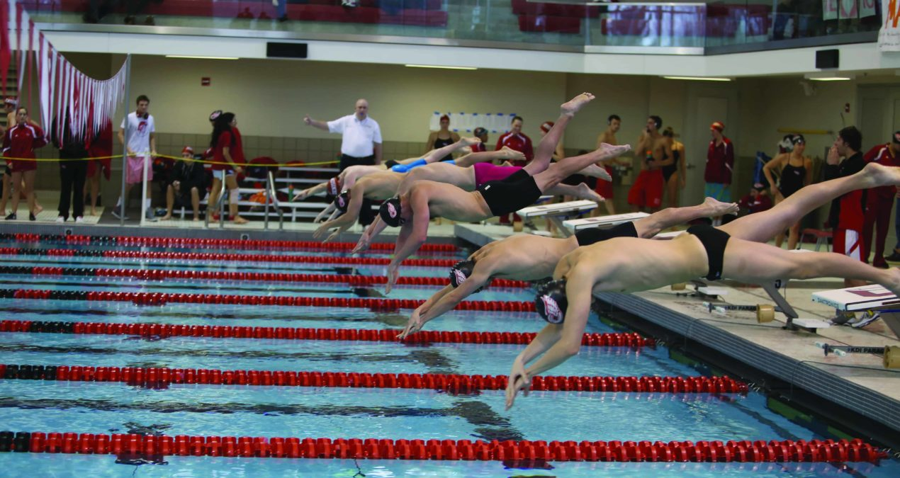 Women's Swimming and Diving Senior day brings DU dominance