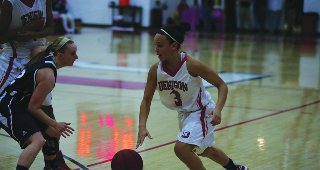 Holmes leads nation, Women's Basketball win final two games