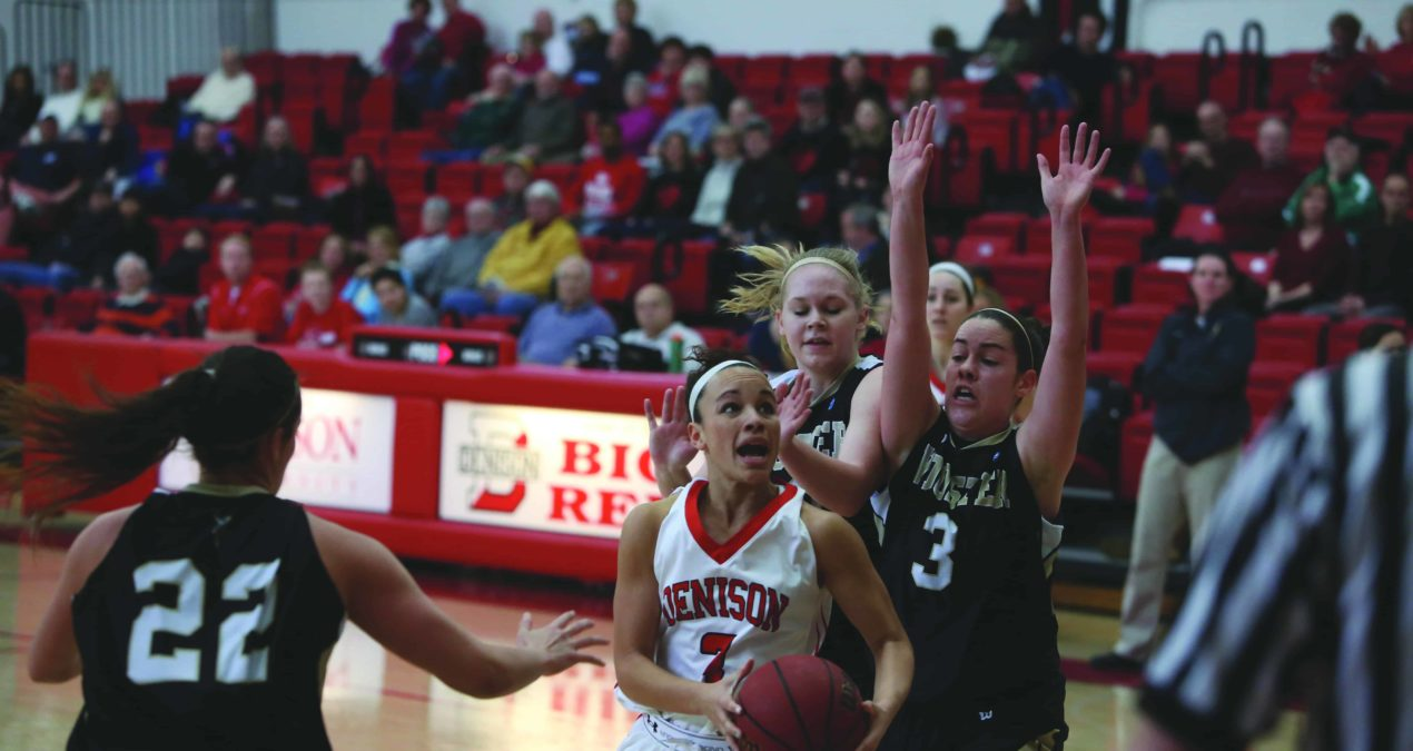 Women's basketball falters in NCAC Championship