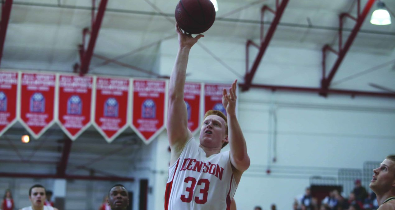 Men's basketball season ends at NCAC tournament