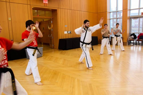 Tae Kwon Do Club packs a punch at the self-defense seminar