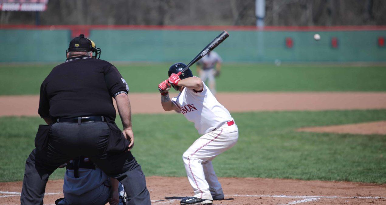Baseball batting strong at the halfway mark of the season