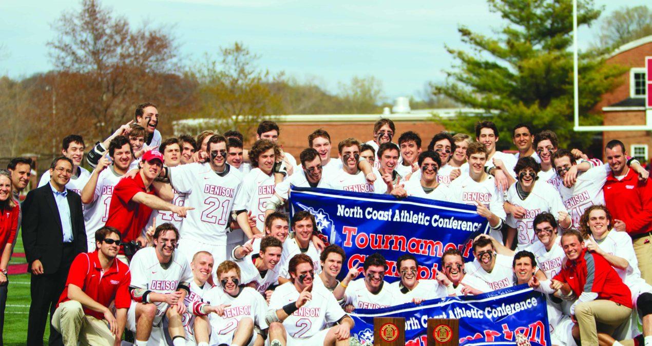 Men's lacrosse captures conference championship title