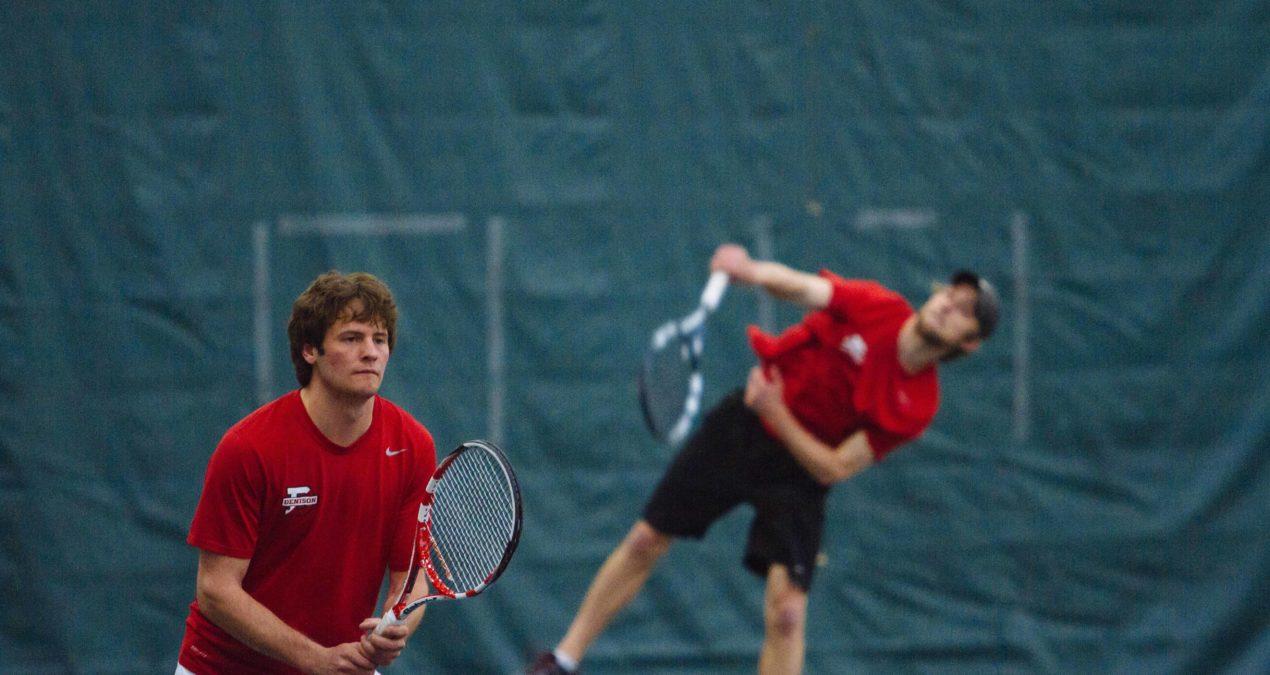 Big Red men's tennis defeats Oberlin, improves to 9-4 record, face rival Kenyon next