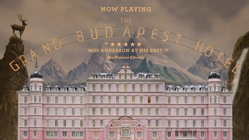The Grand Budapest Hotel:  a fresh addition to Anderson's oeuvre