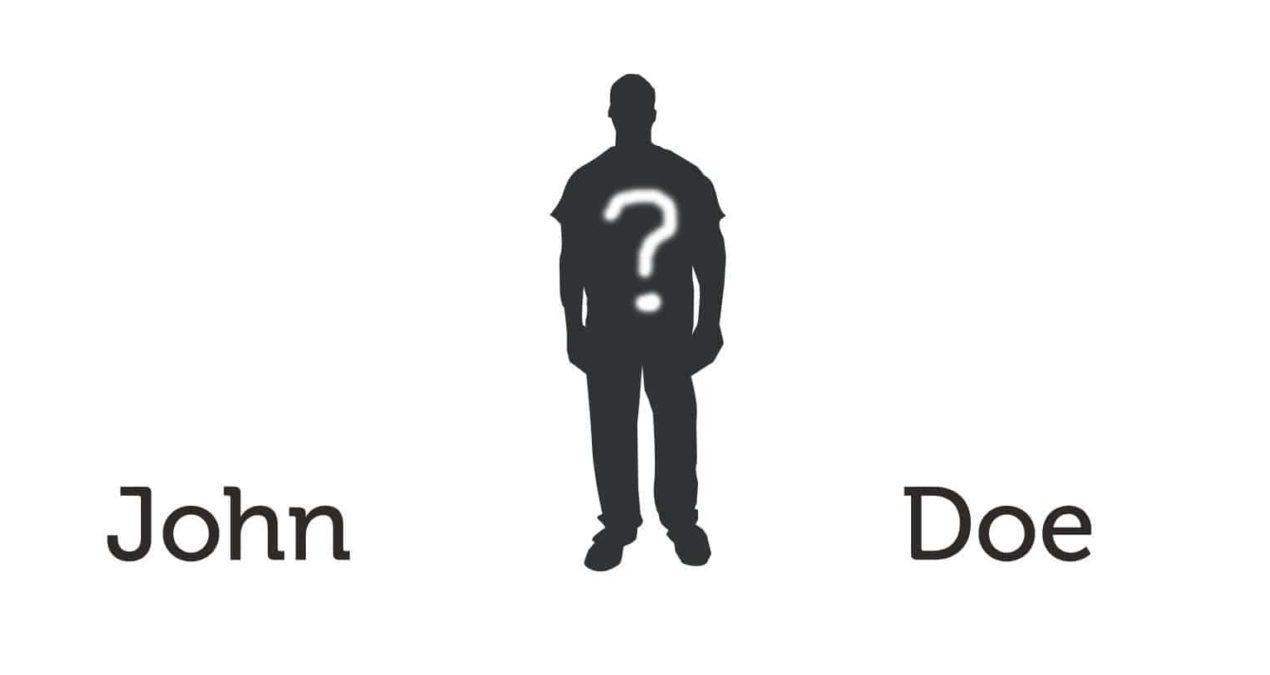 The mysterious John Doe