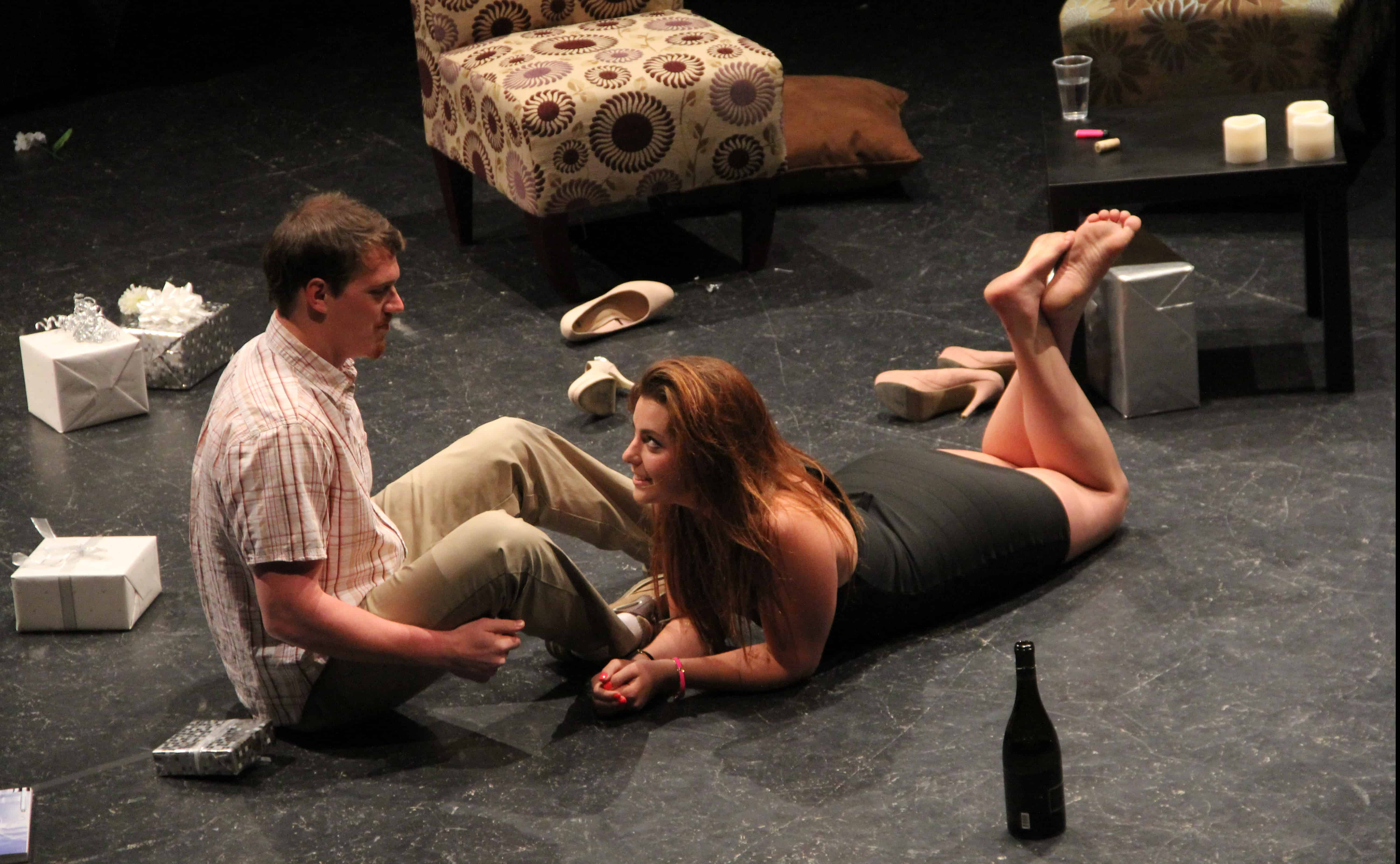 Bachelorette brings laughs and gasps to the Black Box