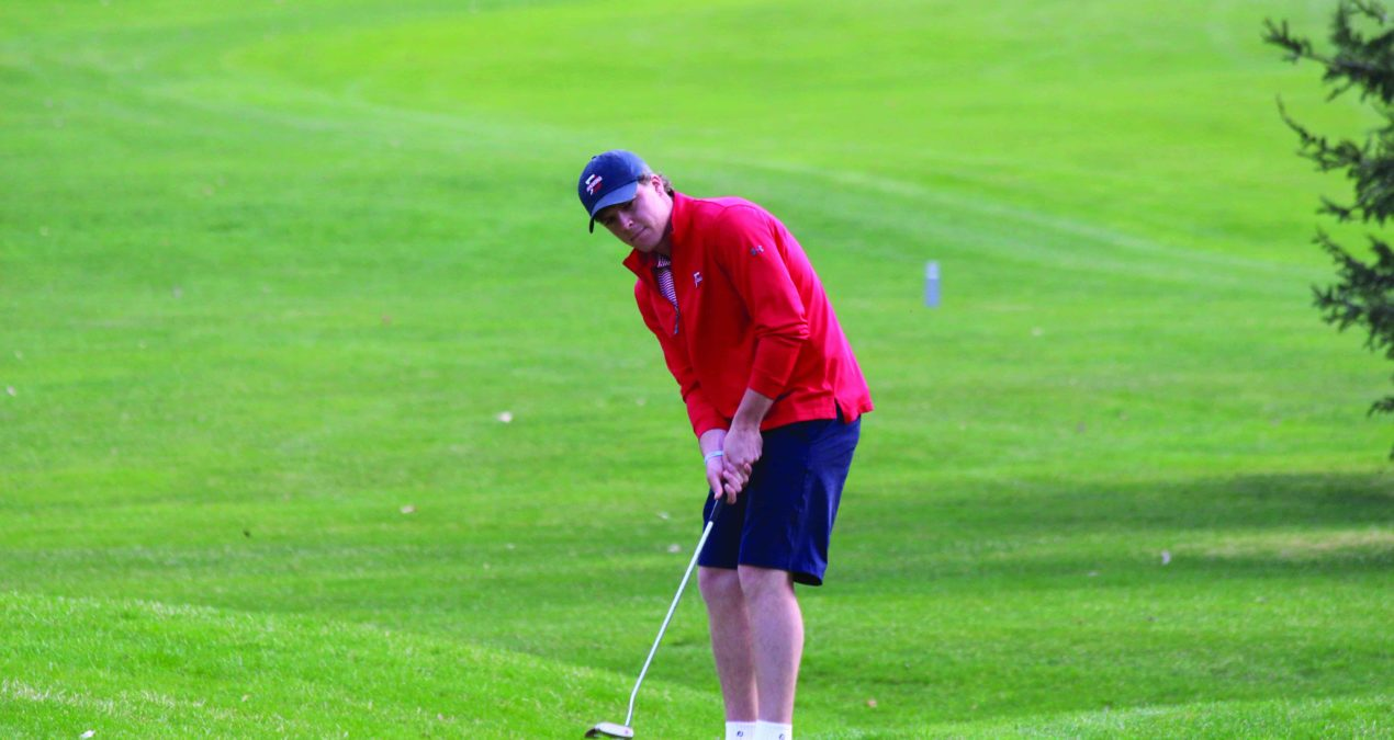 Men's golf notches third place at Battle of the Brook