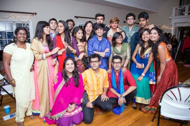 Great food, fun draw 150+ to Diwali