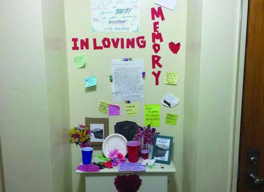 Vandalism recurring issue in freshman dorms