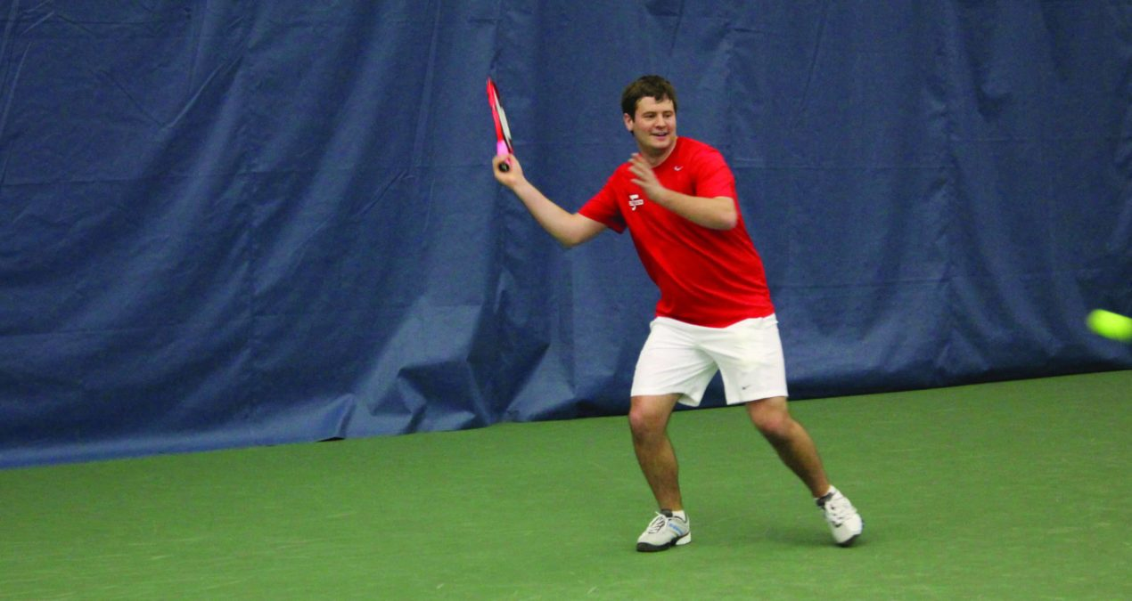 Tennis travels to Virginia, picks up first victory