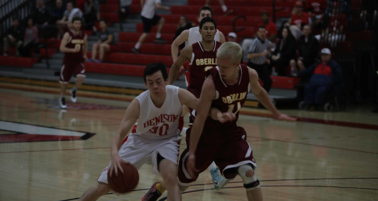 Historic win: men's basketball defeats Wooster