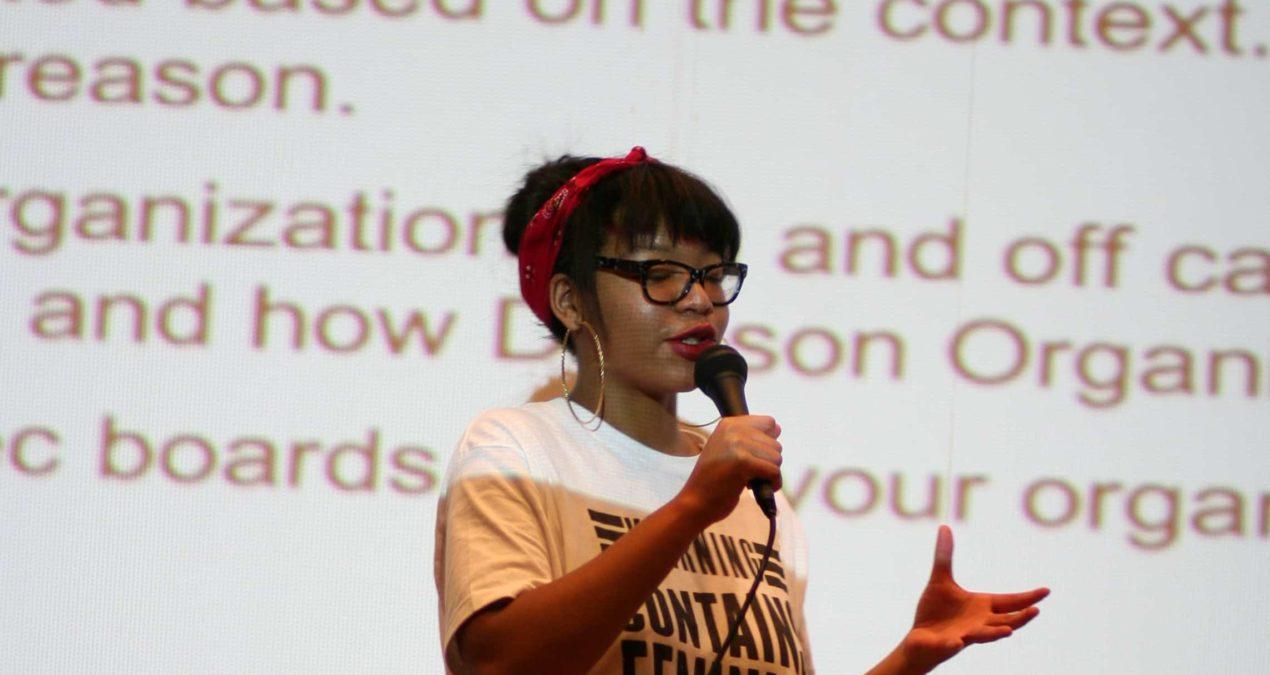 Denison Feminists hold activism workshop
