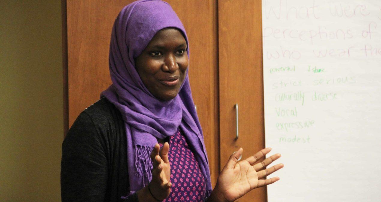 Denison participates in Hijab Day