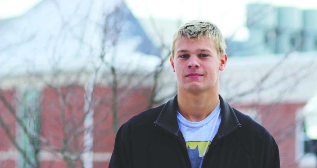 Going fast: a spotlight on swimmer Stuart Hohm '18