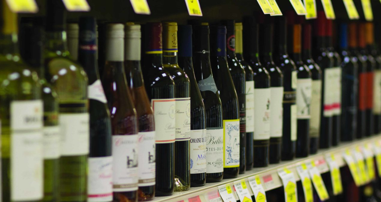 Buying alcohol at IGA? Be prepared