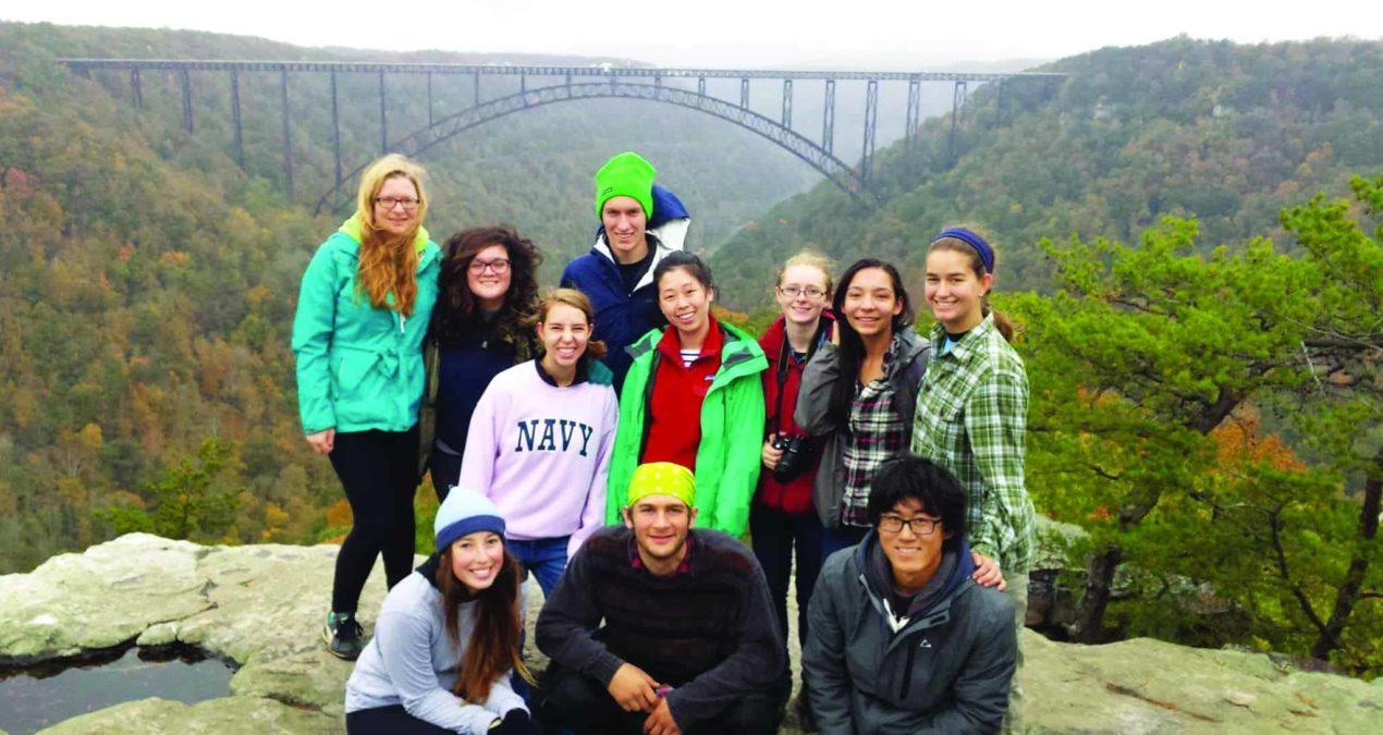Off-campus adventurers ascend new heights