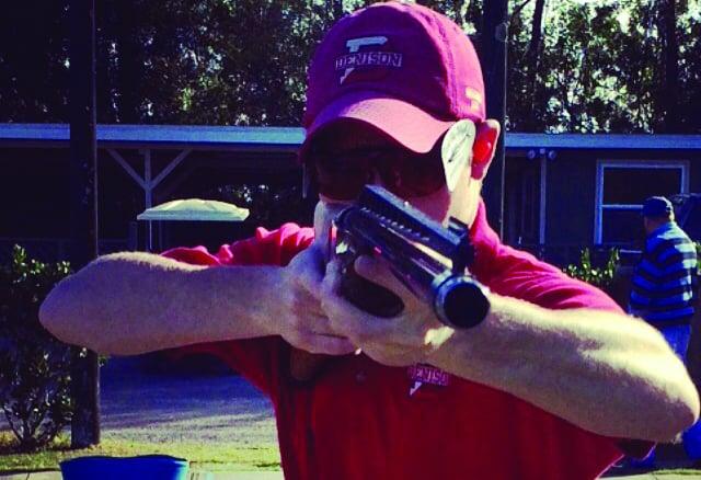 Gunning for gold: Burton anchors DU shooting