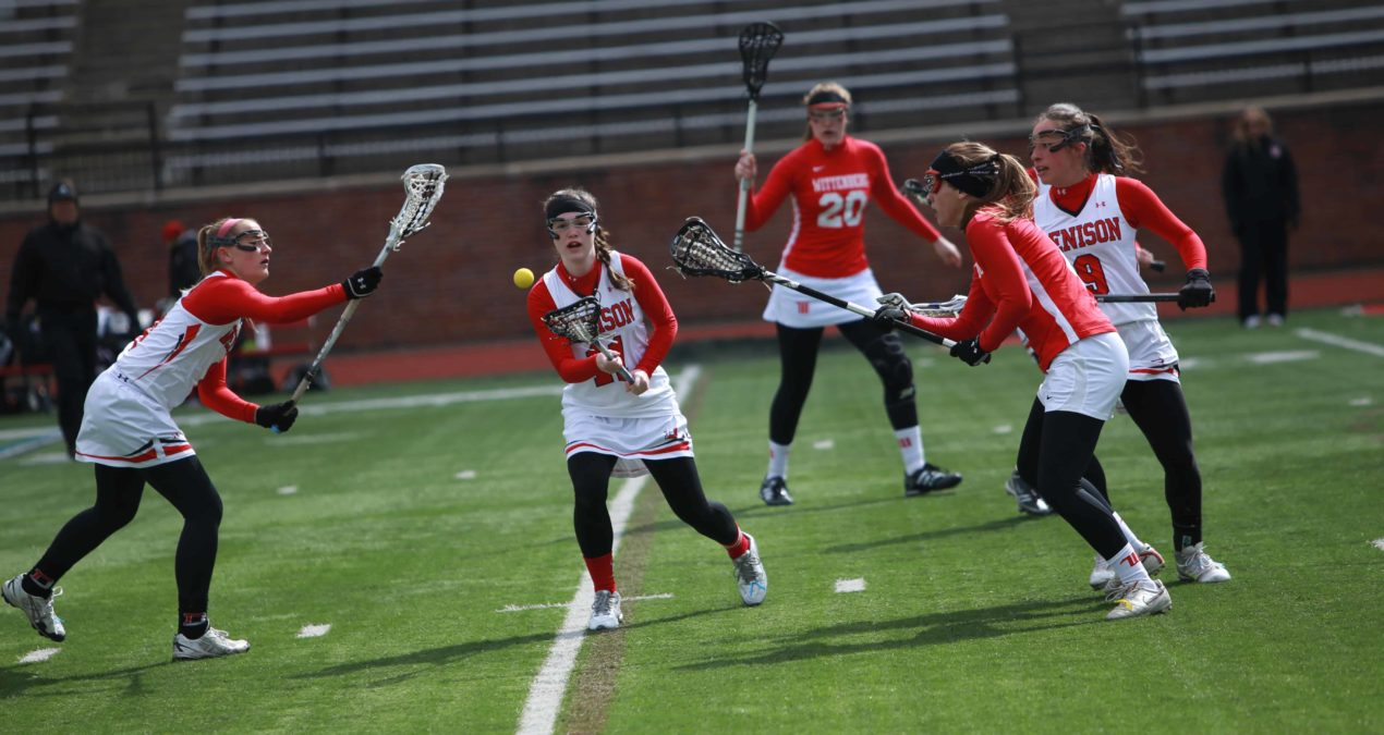 Women's lacrosse starts slow, fall to 1-5 in March