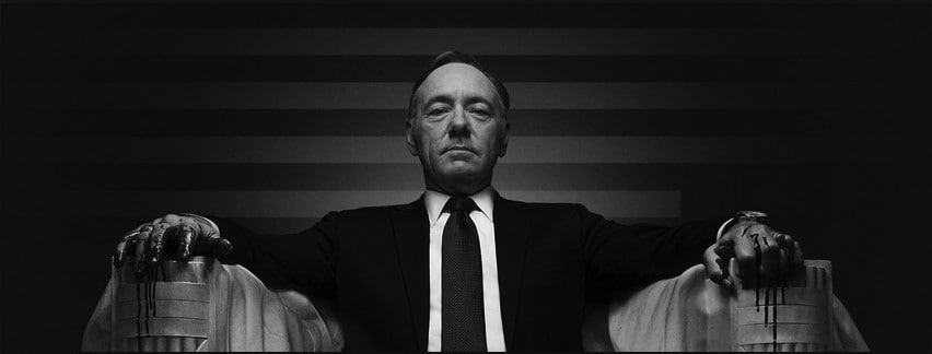 Latest season of House of Cards is as wobbly as its title