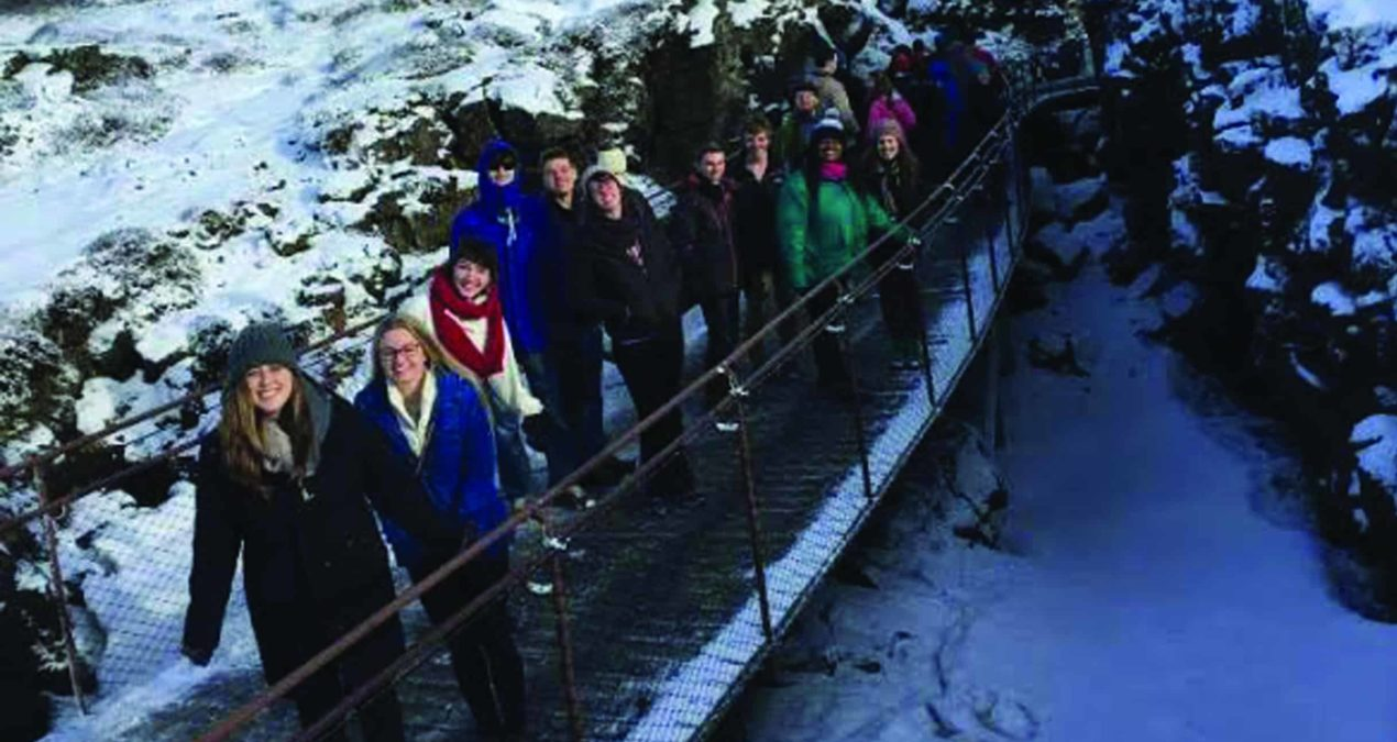 Denison's Chamber Singers journey to Iceland