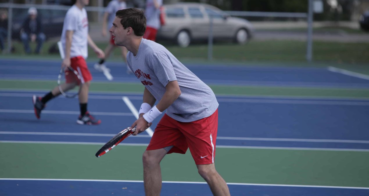 Men's tennis finishes 3rd in NCAC