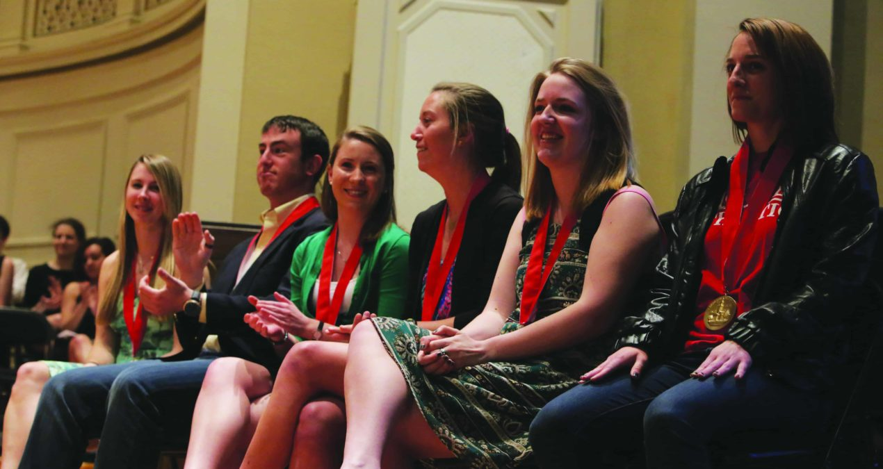 Annual academic convocation honors students' achievements