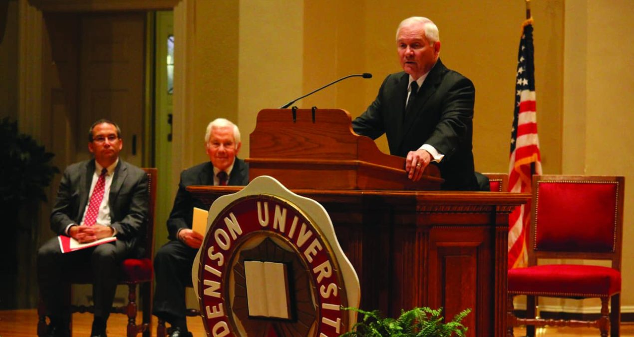 Lugar Lecture Series brings former Secretary of Defense Robert Gates