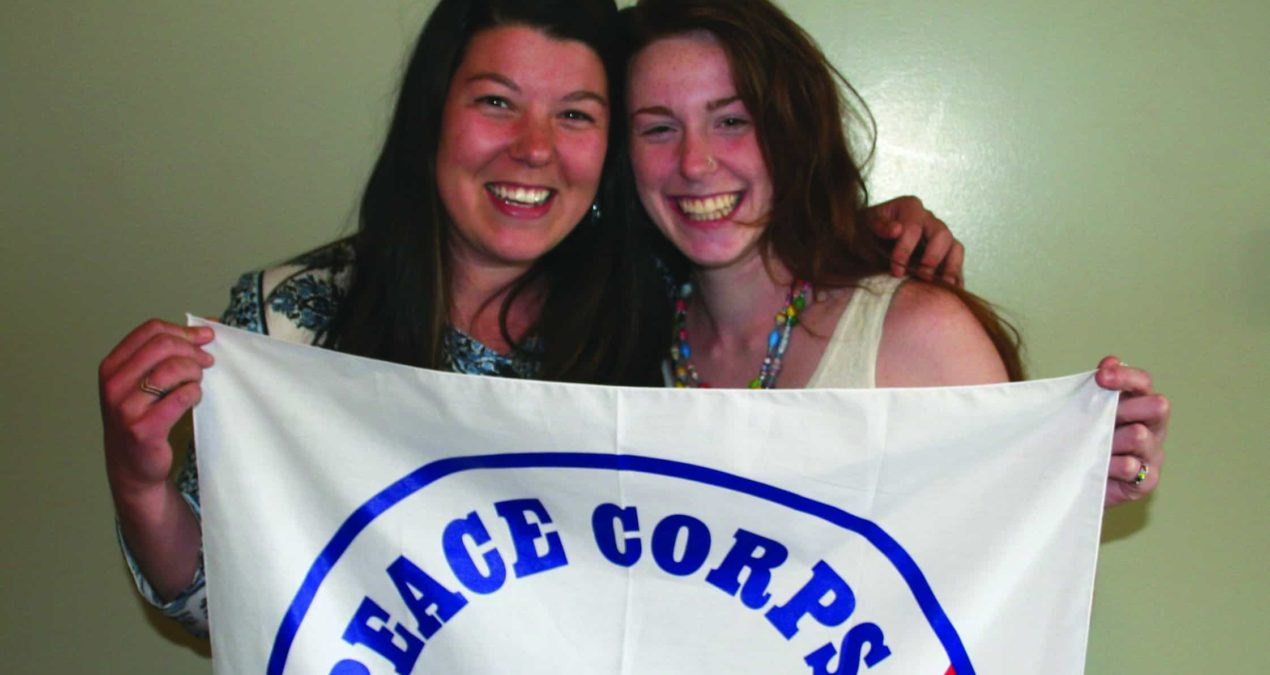 Roomates start a new journey in the Peace Corps