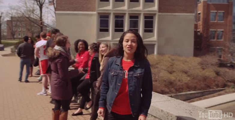 Denison, be the diversity that the admissions video showcased