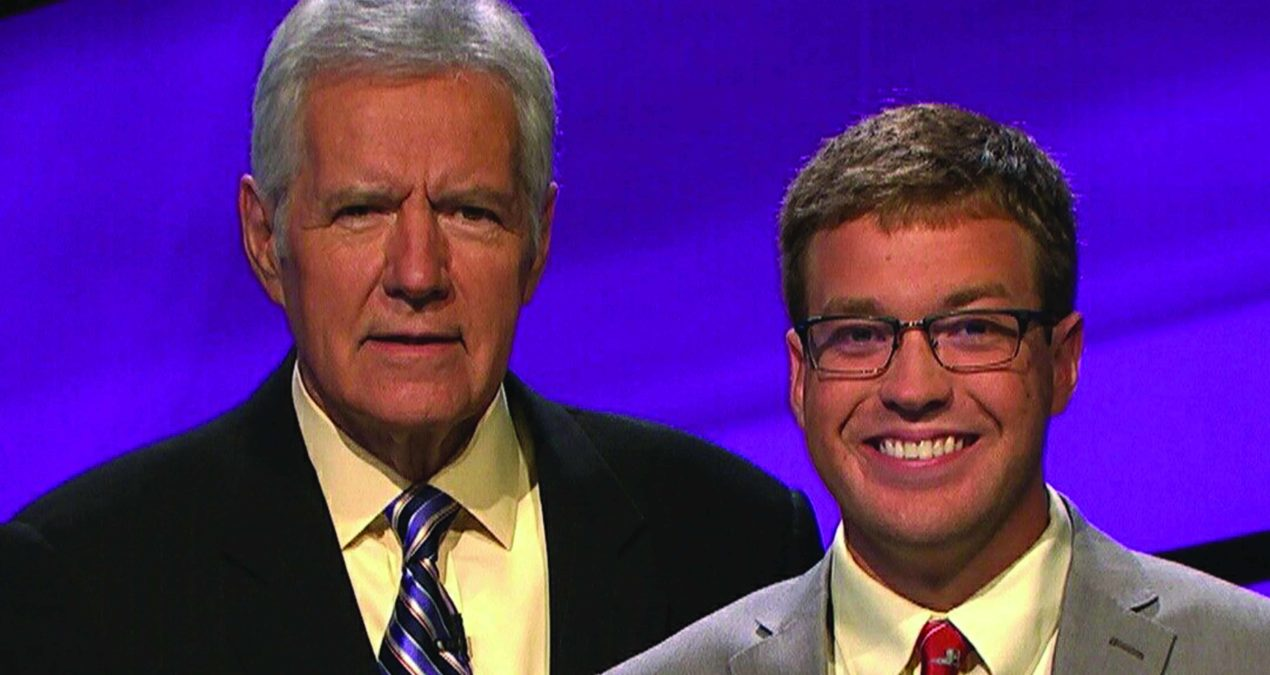Dylan Parson '16 shows off his liberal arts education on Jeopardy!