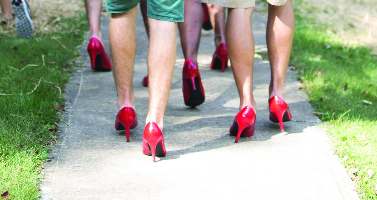 Walk a Mile in Her Shoes: Philanthropy with a message