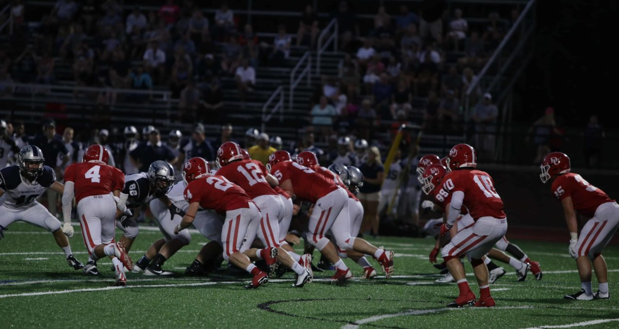 Big Red football starts the season off strong in victory over Marietta