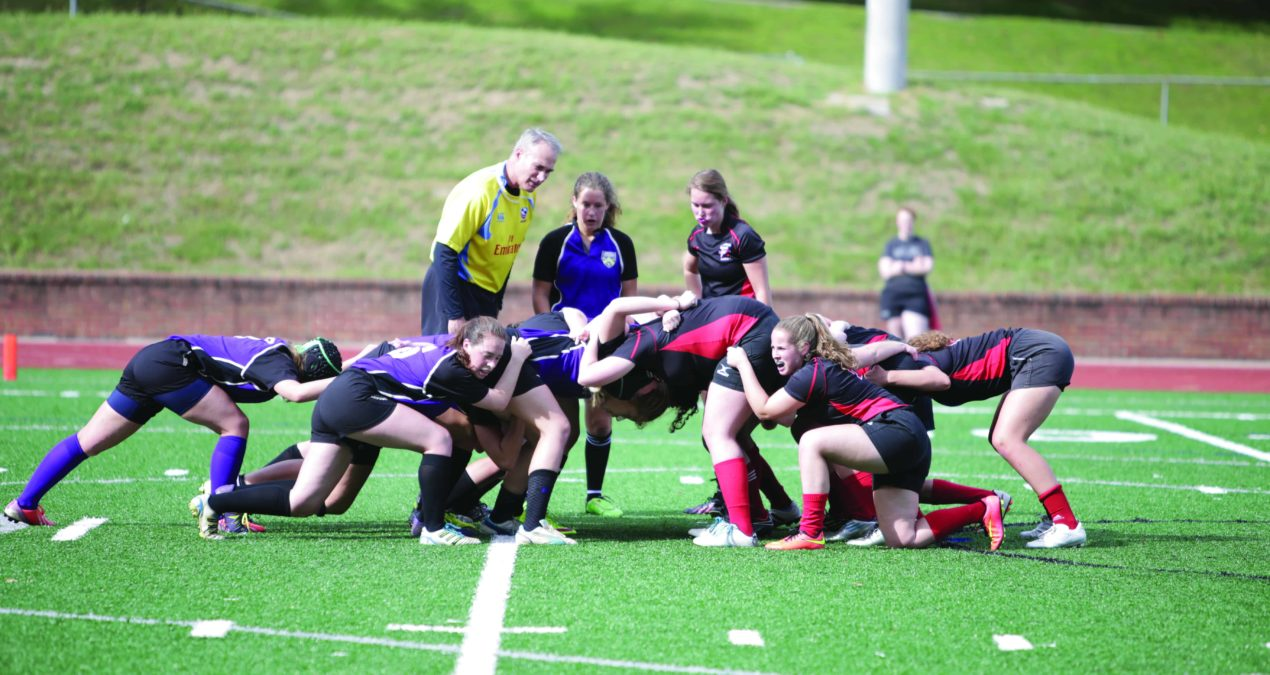 Women's Rugby trounces Kenyon in opener