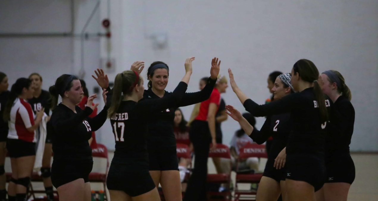 DU Volleyball finish road trip